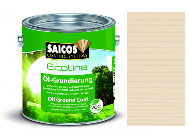 Saicos Ecoline Öl-Grundierung Birke transparent
