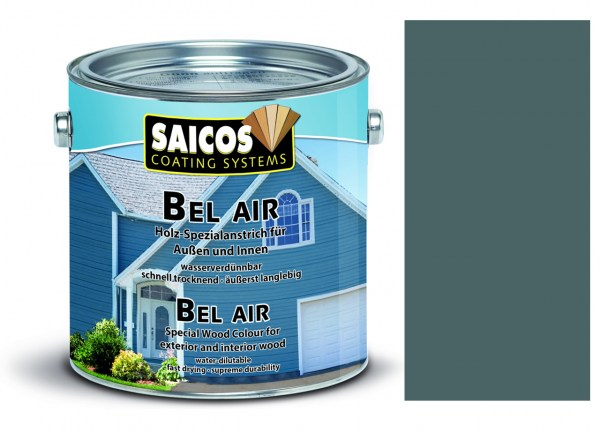 Saicos Bel Air - Spezialanstrich- deckend Eisengrau 2,5 Liter