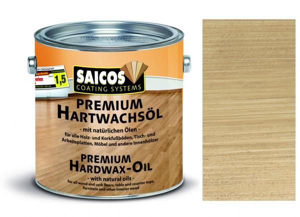 Saicos Premium Hartwachsöl Silbergrau, 2,5l