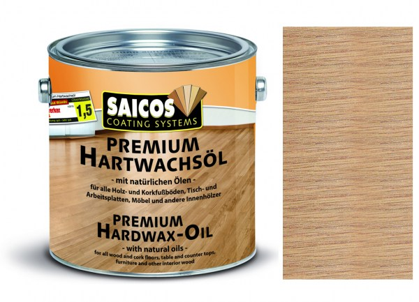 Saicos Premium Hartwachsöl Effekt, 2,5l