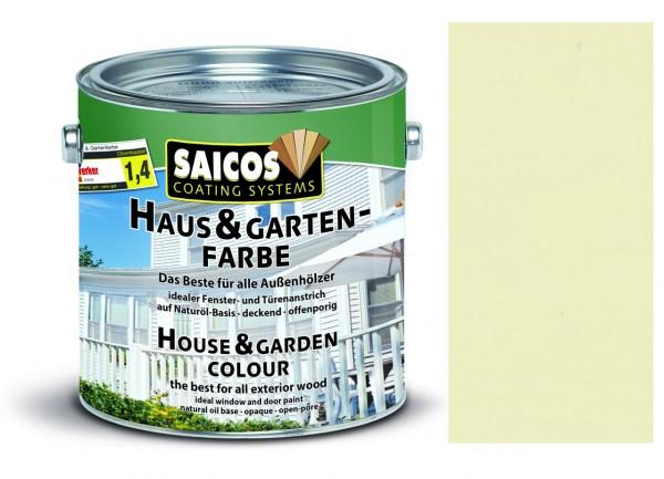 Saicos Haus & Gartenfarbe Elfenbein 0,75 Liter