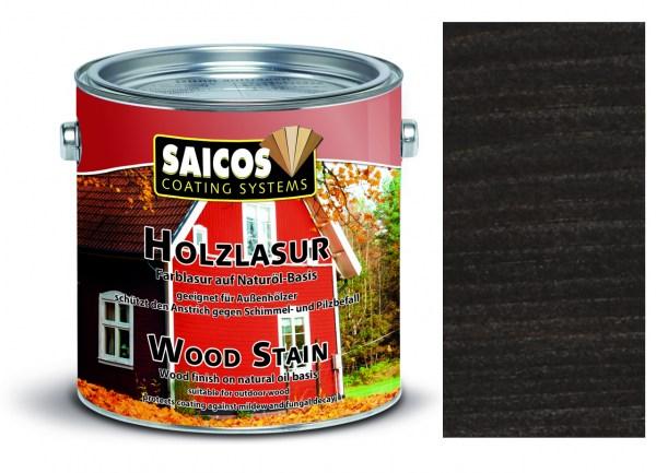 Saicos Holzlasur Ebenholz 2,5 Liter